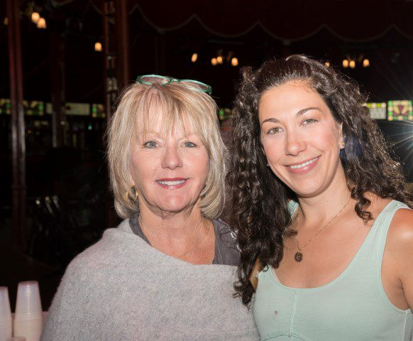 Kathy Barnhart and Laura Egedy