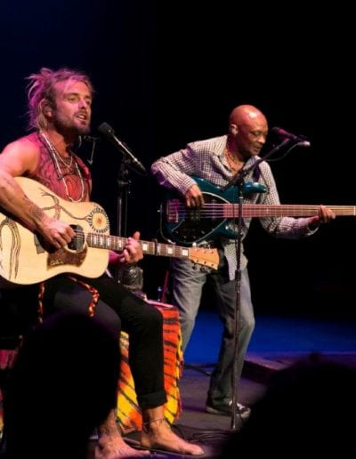 Xavier Rudd at the Center for the Arts PHOTO CREDIT Nathan Bilow