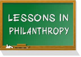 Lessons in Philanthropy Article