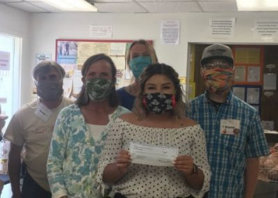 Community Banks Donation to Gunnison Country Food Pantry