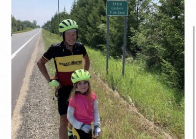 Day 40 Sagola to Escanaba Eastern Time Zone