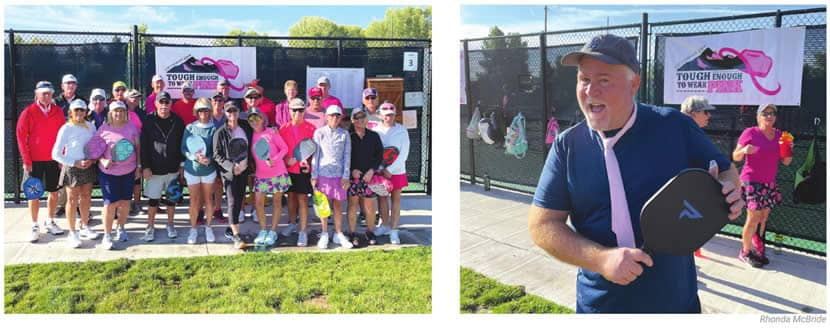 Pickleball for a cause